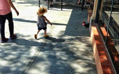 Little Shopper in Training