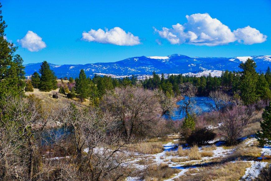 The Spokane River